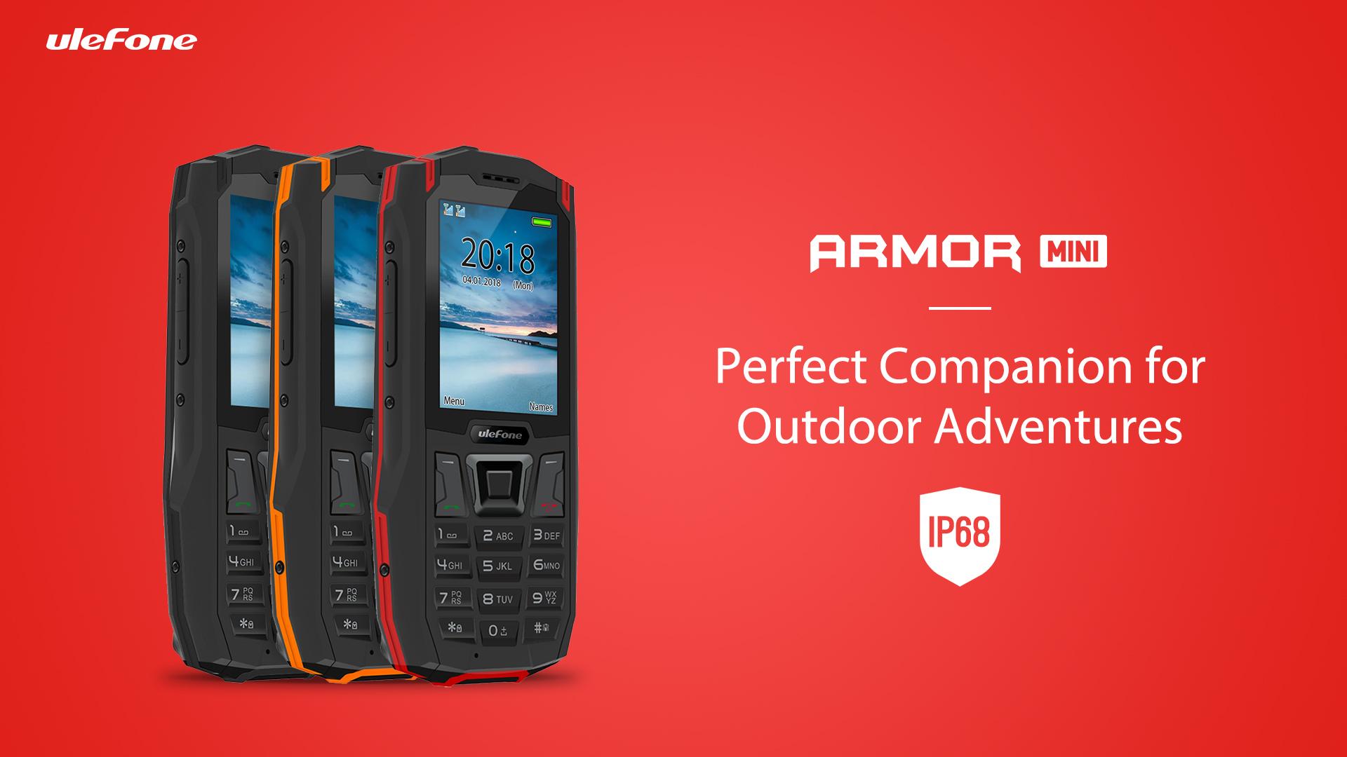 Ulefone Armor Mini – Mobilní telefon za 40 dolarů [Sponzorovaný článek]