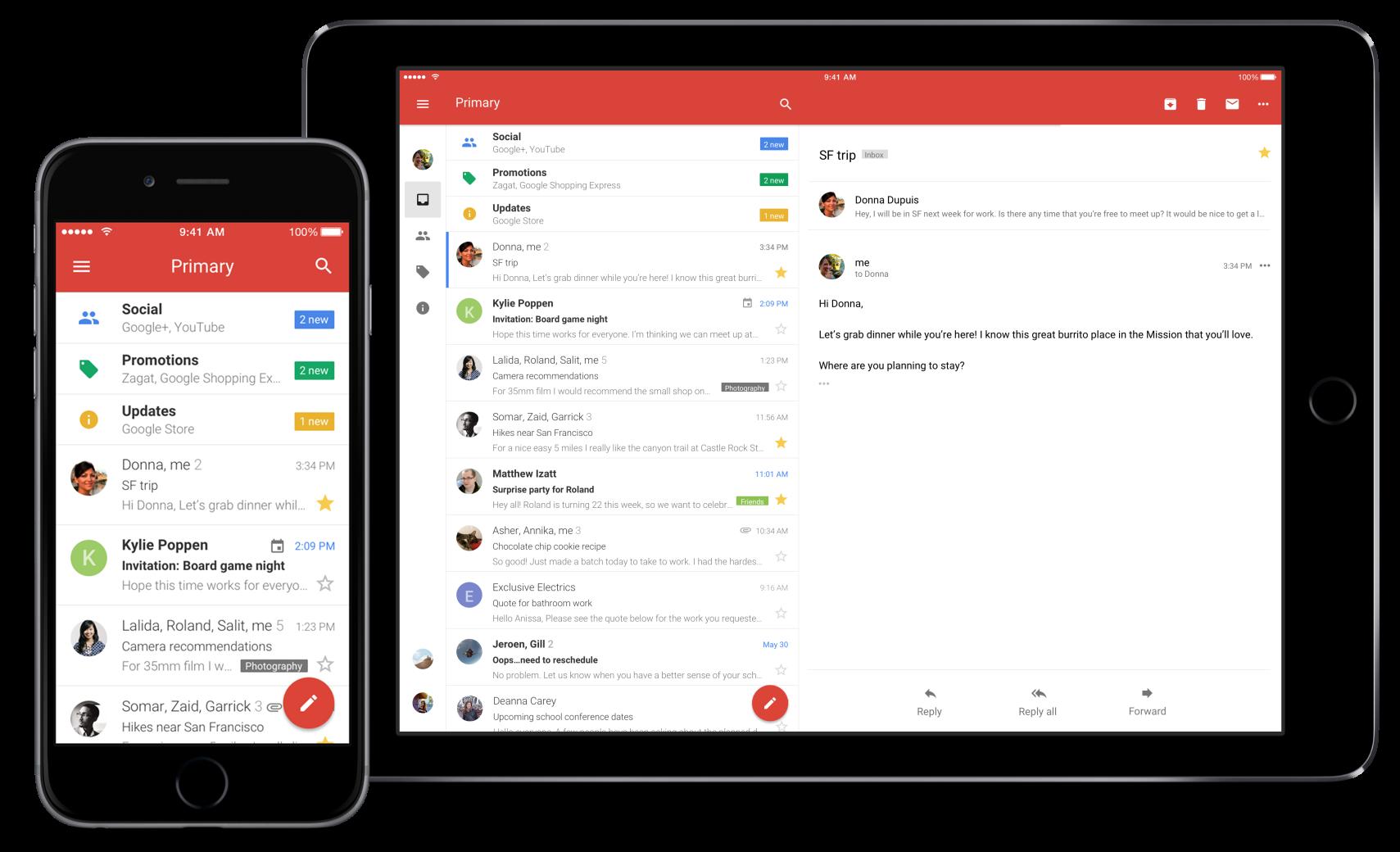 Gmail umožňuje dvoufázové ověření pro iOS