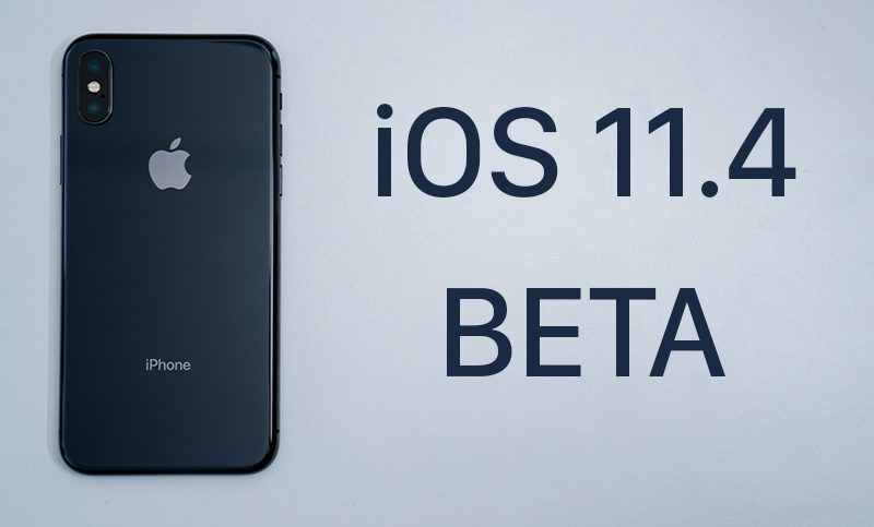 Apple vypustil iOS 11.4 beta 2