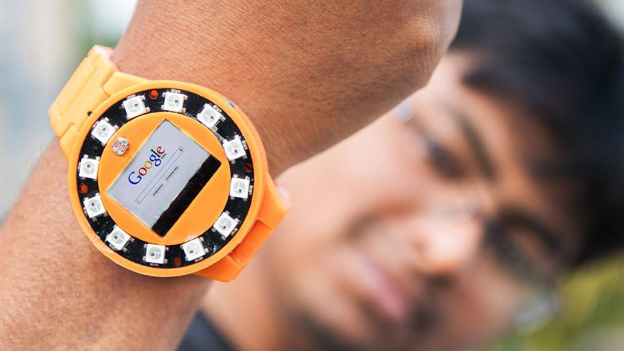 Vyrobil si chytré hodinky za necelých 500 Kč [zajímavost]