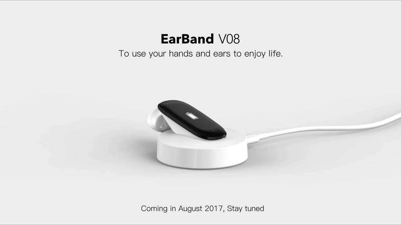 Univerzální chytrý náramek EarBand V08 nyní ve slevě za 1 000 Kč! [sponzorovaný článek]