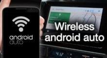 Android Auto konečně podporuje bezdrátovou komunikaci