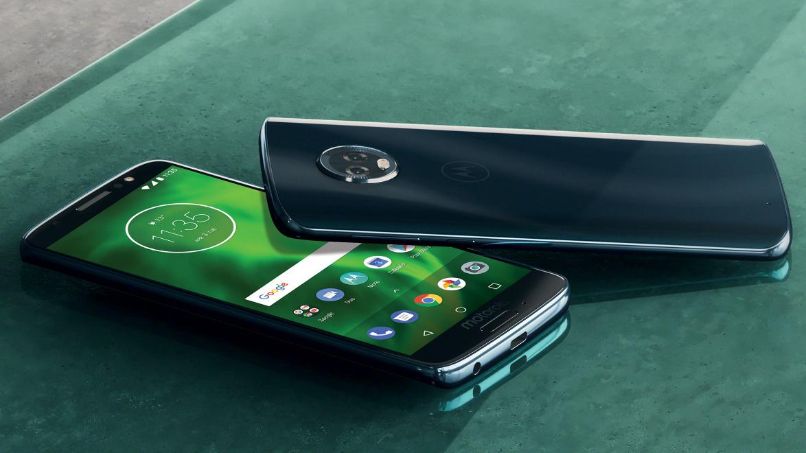 Motorola představila Moto G6, G6 Play, G6 Plus, E5, E5 Plus a E5 Play