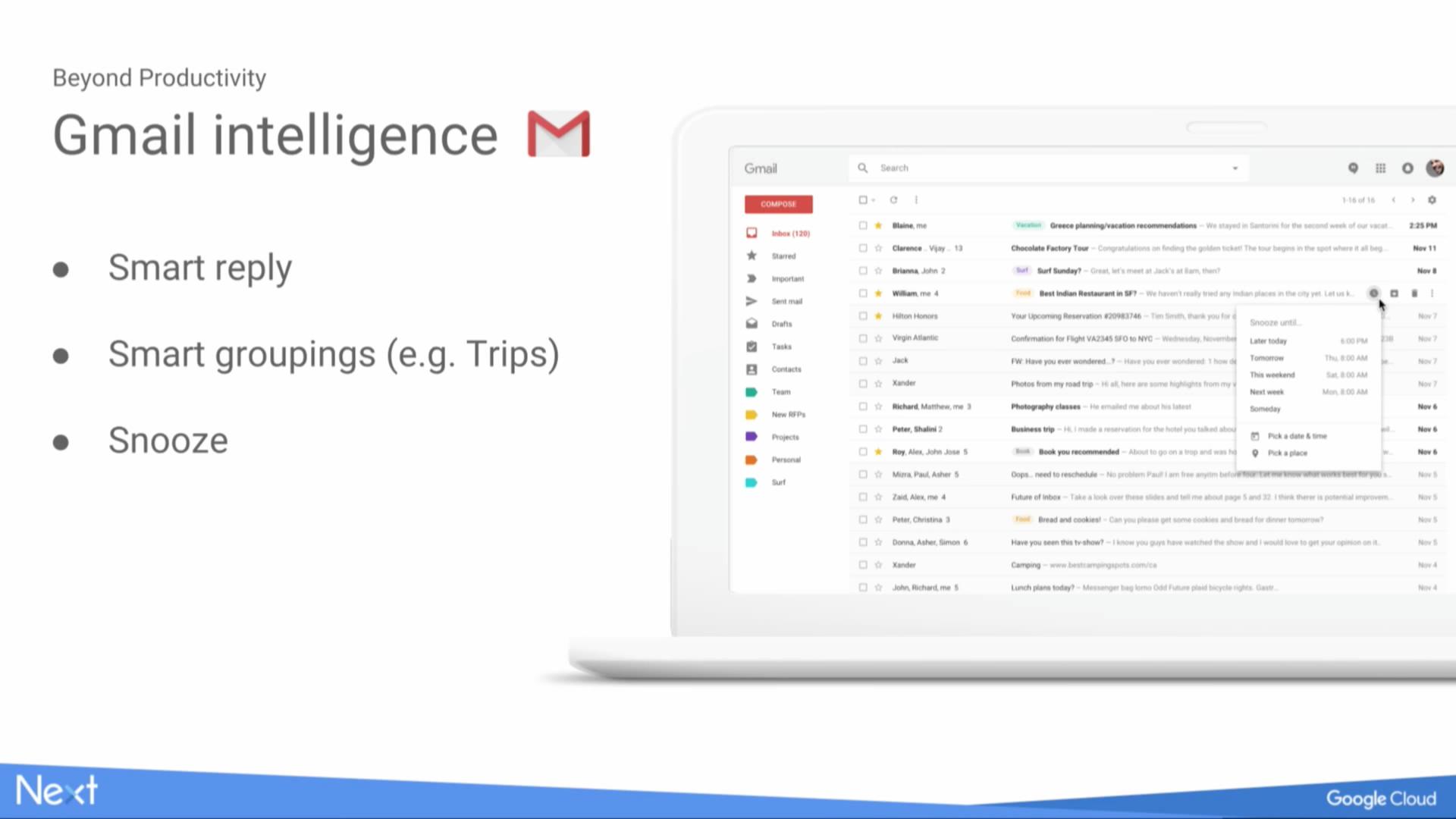 Gmail nabídne nejen samodestrukční emaily