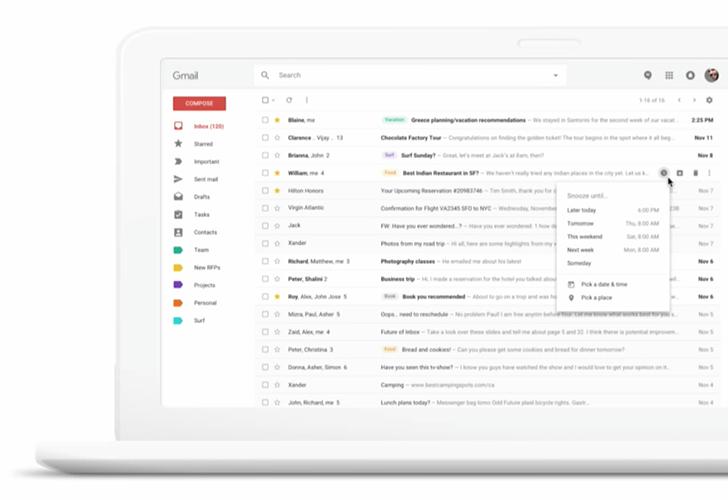 Webový Gmail získává nový vzhled v rámci Early Adopter Program [aktualizováno]