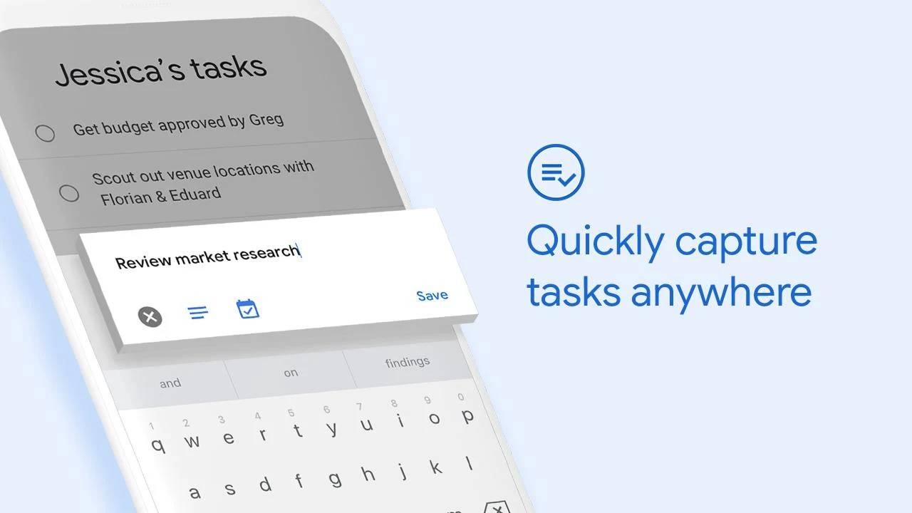 Nová aplikace Úkoly Google
