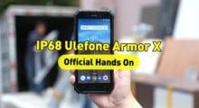 První pohled na nový odolný telefon Ulefone Armor X [Sponzorovaný článek]