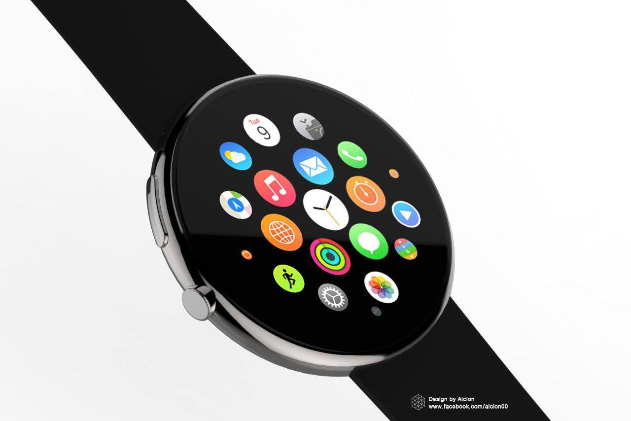 Chystá se příchod kulatých Apple Watch? Pravděpodobně ano