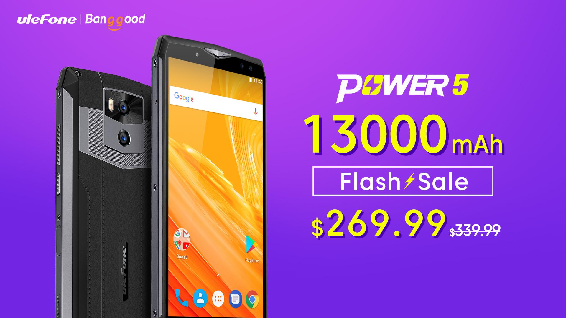 Ulefone Power 5 nyní za exkluzivní cenu [Sponzorovaný článek]