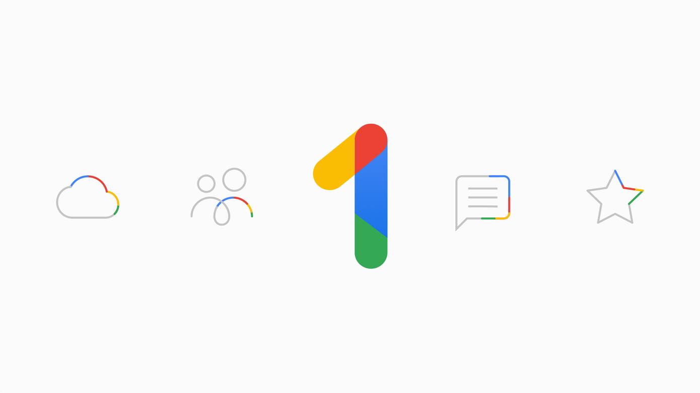 Google One je k dispozici pro české uživatele