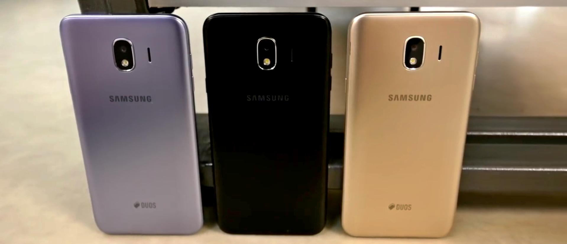 Samsung brzy ukáže Galaxy J4 (2018) a J6 (2018)