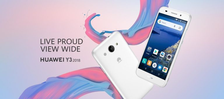 Huawei Y3 (2018) – poprvé s Android Go