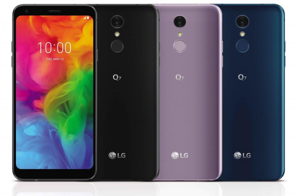 LG představilo modely střední řady Q7