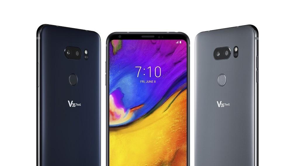 LG představilo modely V35+ a V35 ThinQ