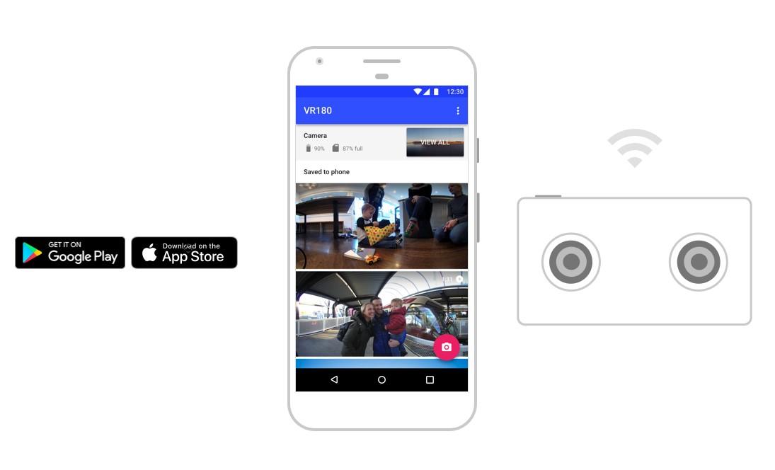 Google VR180 je nová aplikace pro Android a iOS