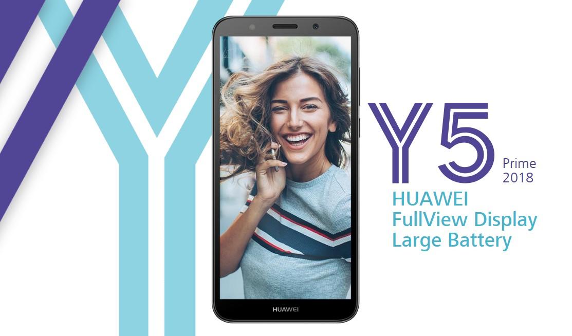 Novinka Huawei Y5 Prime (2018) aneb další do počtu