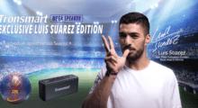 Buď jako slavný Luis Suarez: reproduktory s jeho podpisem jsou nyní ve slevě! [sponzorovaný článek]