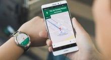 """Google Mapy nově s možností """"follow"""""""