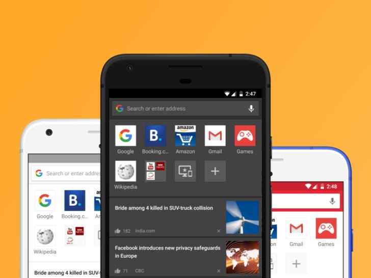 Aktualizace prohlížeče Opera pro Android přináší témata, noční mód a další