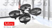 Mini dron za pouhých 200 Kč z českého skladu [sponzorovaný článek]