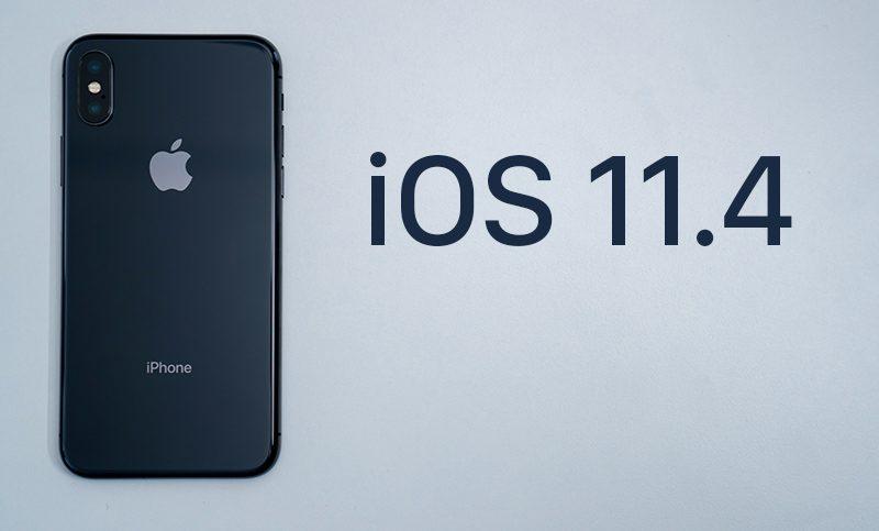 Čtrnáctá verze iOS 11.4 je konečně venku, novinek je opravdu mnoho