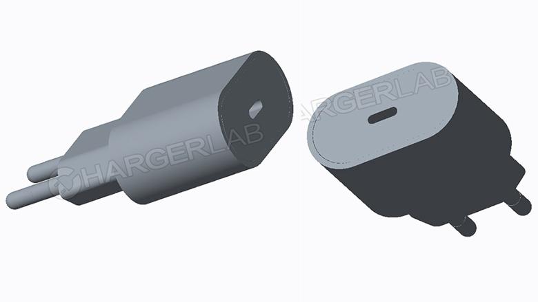 Unikly rendery USB-C nabíječky pro letošní iPhony