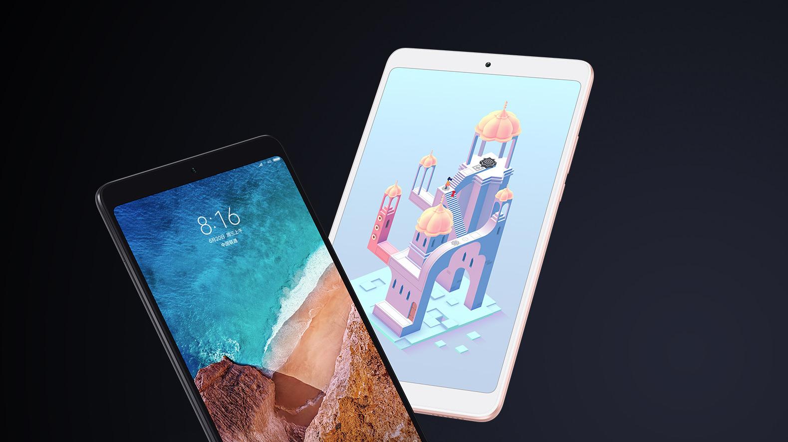 Xiaomi Mi Pad 4 přichází i v LTE variantě