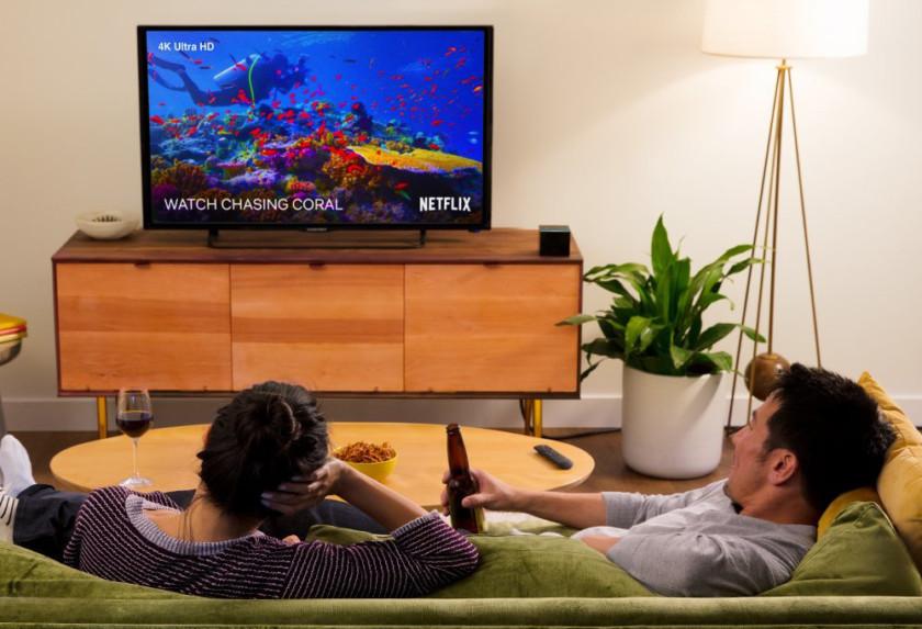 Amazon začal prodávat nadupaný Fire TV Cube