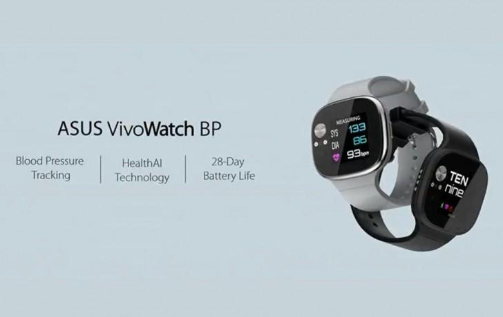 Asus představil hodinky VivoWatch BP