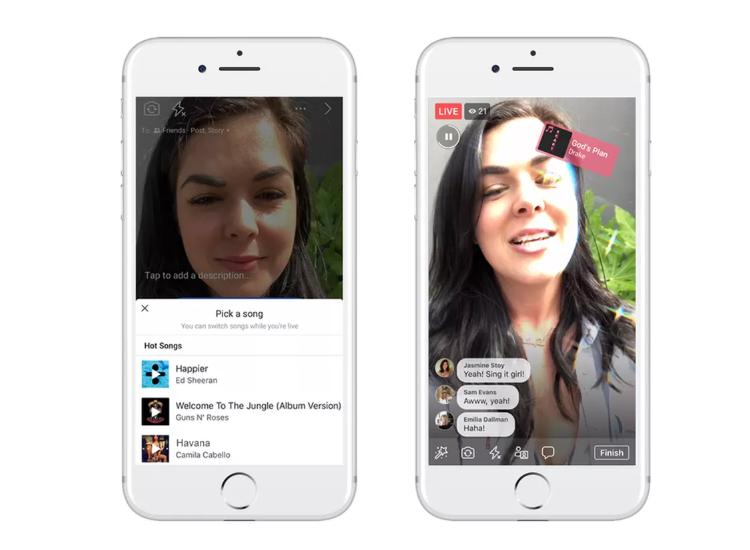 Facebook odhalil konkurenta Musical.ly s názvem Lip Sync Live