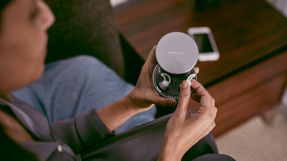 Sluchátka pro klidný spánek od společnosti Bose