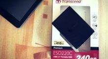 SSD Transcend ESD220C: svižná úschovna dat nejen pro PC [recenze]