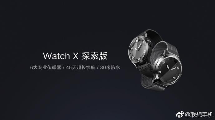 Watch X: Lenovo hodinky měřící nejen tlak a tep