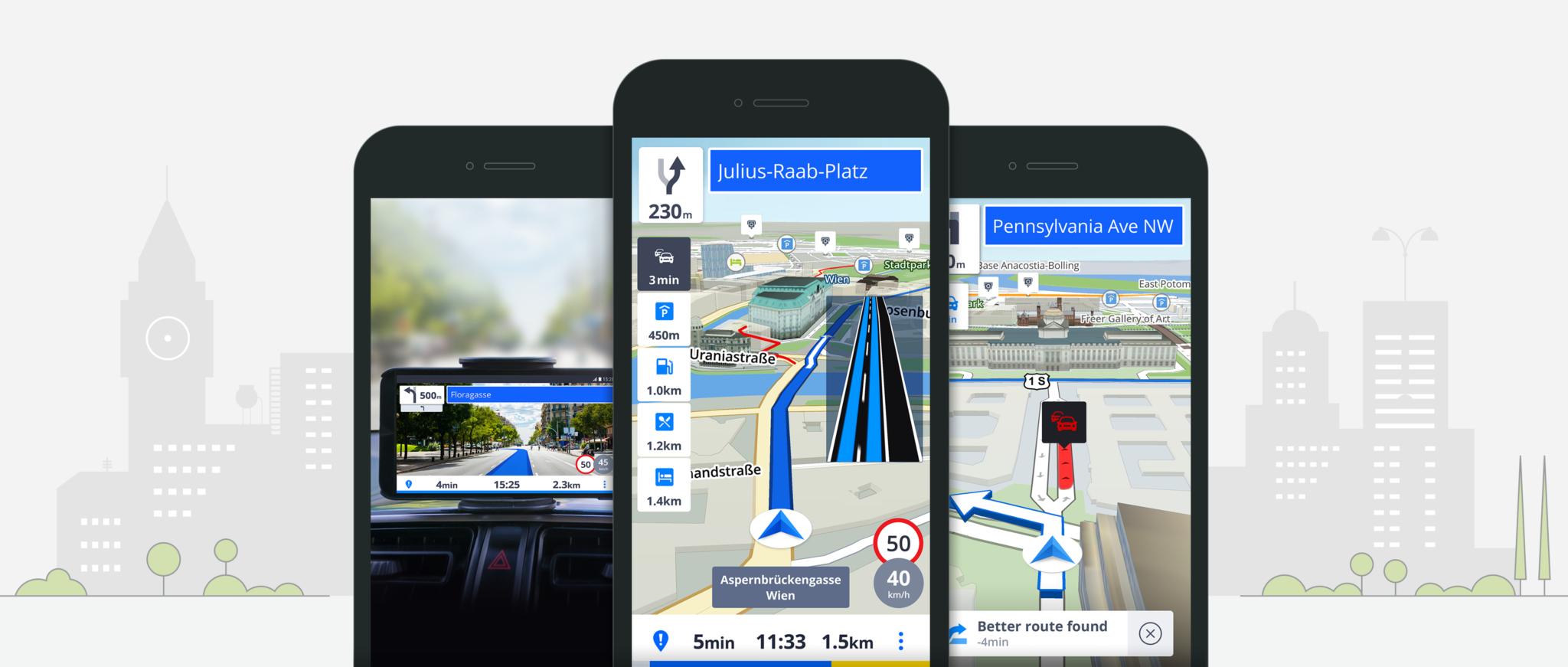 Společnost Sygic spouští nový prediktivní systém pro výpočet optimální trasy