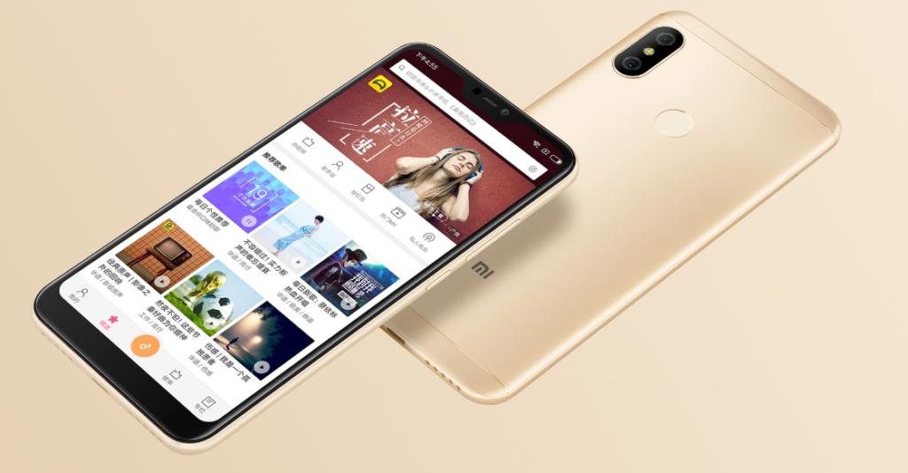 Xiaomi Redmi 6 Pro představen, tentokrát s výřezem