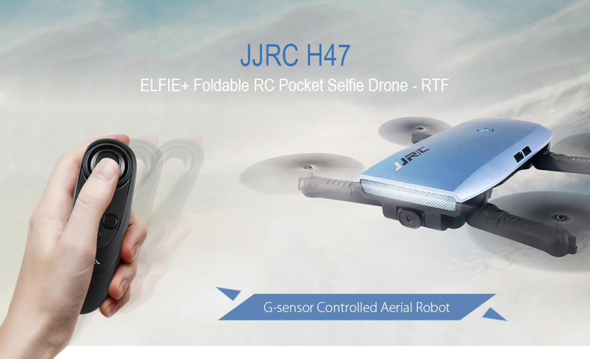 Výkonný dron JJRC H47 za 740 Kč a s dodáním do 3 dnů! [sponzorovaný článek]