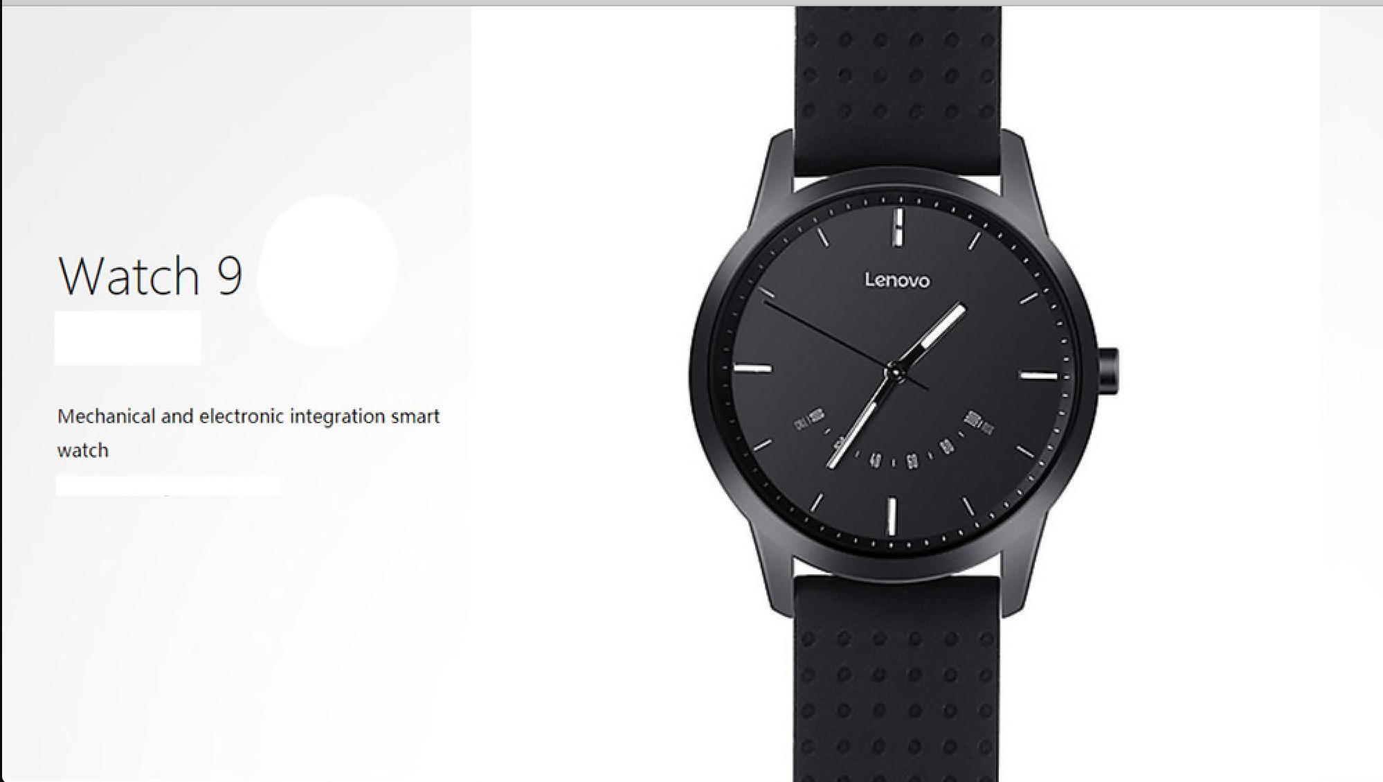 Gearbest: Slevový kupón na chytré hodinky Lenovo Watch 9, jen pro 10 z vás! [sponzorovaný článek]