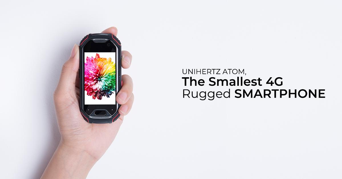 Unihertz Atom – nejmenší odolný telefon na světě