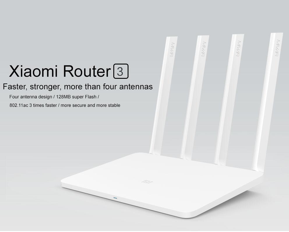 Xioami Mi WiFi Router 3 nyní za výhodnou cenu na GearBest.com [Sponzorovaný článek]