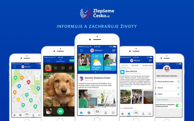 Zlepšeme Česko – nová aplikace pro řešení komunálních problémů
