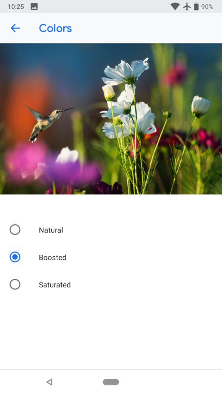 Novinky v Androidu P - BiometricPrompt, nastavení barev