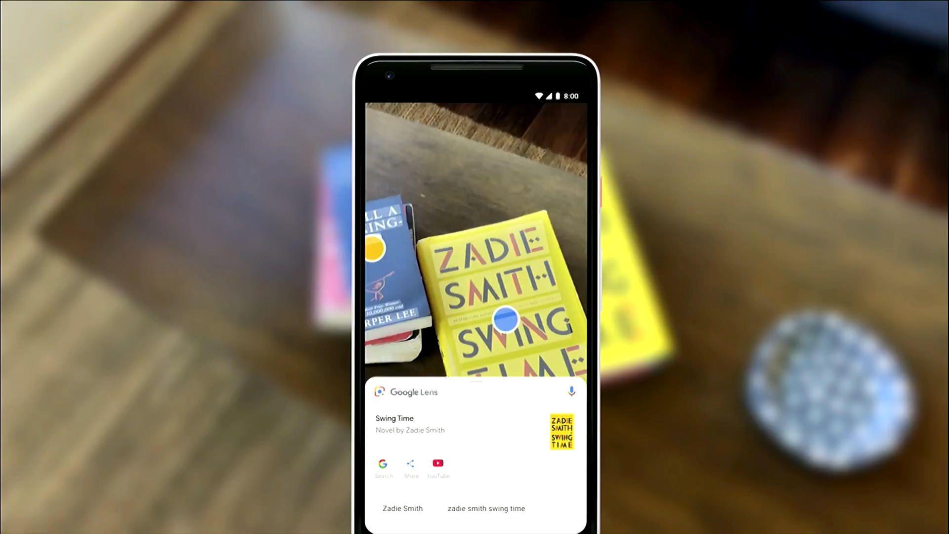 Google Lens nyní jako samostatná aplikace v Obchodě Play