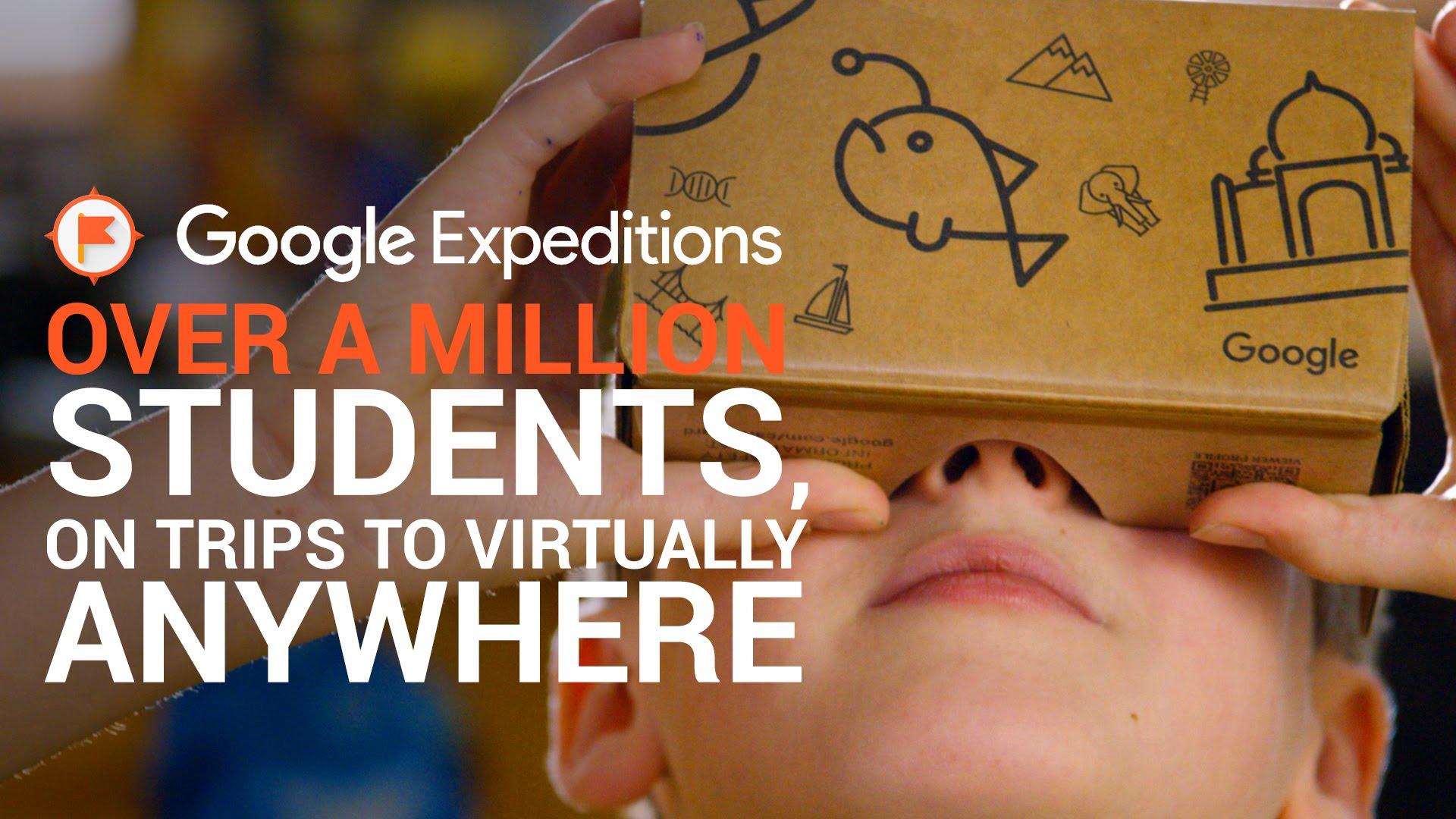 Aplikace Google Expeditions byla rozšířena o AR prohlídky aneb Škola hrou