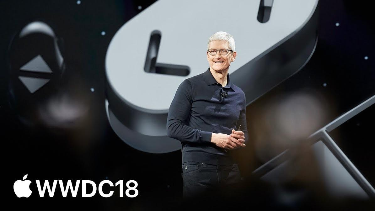 Apple WWDC 2018 Keynote – podívejte se na celý záznam