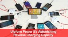 Ulefone Power 5 – ukázka velikosti baterie [Sponzorovaný článek]