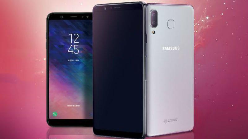 Samsung představil Galaxy A9 Star a Galaxy A9 Star Lite