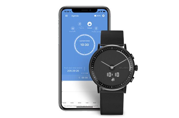Nové hybridní hodinky GLIGO budou mít e-ink displej
