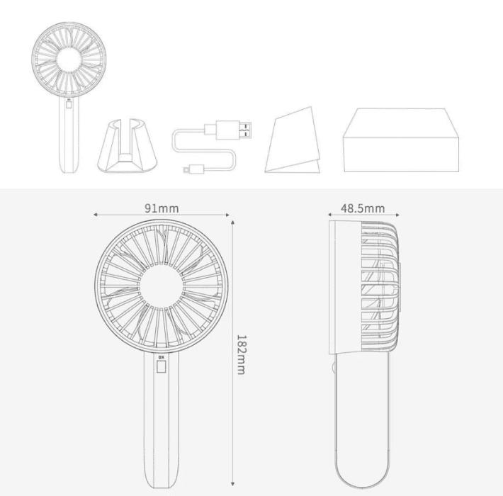Xiaomi větrák