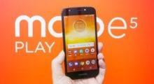 Moto E5 Play v nové variantě s Androidem Go