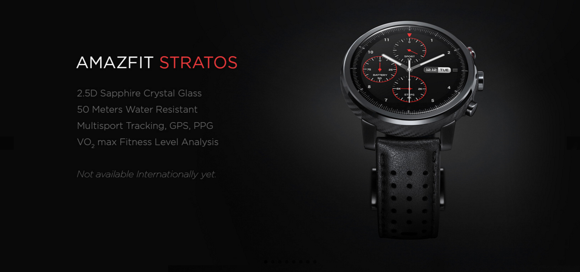 Black Friday: Slevový kupón na Xiaomi Amazfit Stratos Watch 2! [sponzorovaný článek]